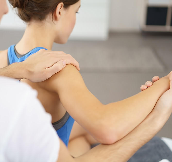 Physiotherapie Arm - Schulter